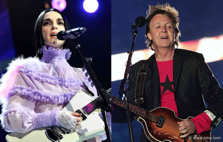 """St. Vincent on working with Paul McCartney: """"It was the best moment of my life"""""""