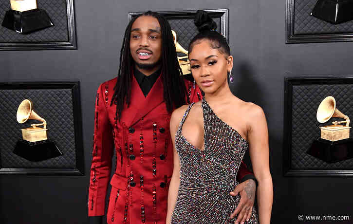 """Quavo responds to leaked video of lift fight: """"I didn't physically abuse Saweetie"""""""