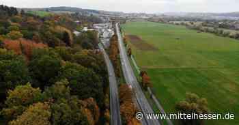 Solms B 49 bei Solms am Wochenende wieder gesperrt - Mittelhessen