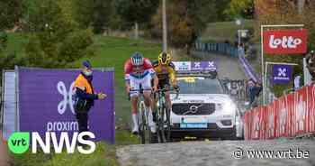 """Niemand toegelaten in Kluisbergen tijdens Ronde van Vlaanderen: """"Boete van 250 euro als je toch probeert"""" - VRT NWS"""