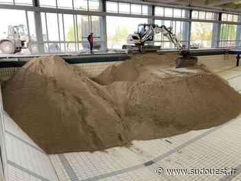 Bergerac : pourquoi tout ce sable dans l'ancienne piscine ? - Sud Ouest