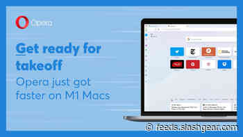 Opera browser gets a speed boost on M1 Macs