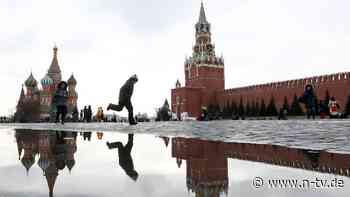 """Truppenaufmarsch an Grenze: Moskau droht, aber """"bedroht niemanden"""""""