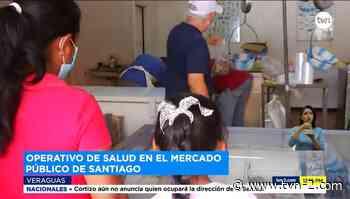 Realizan operativos de salud en el mercado público de Santiago de Veraguas - TVN Noticias