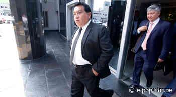 Datum: José Luna Gálvez lidera intensión de voto al Congreso, pese a investigaciones - ElPopular.pe