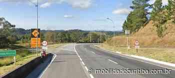 Tombamento de carreta interdita BR-116 em Campina Grande do Sul - Mobilidade Curitiba