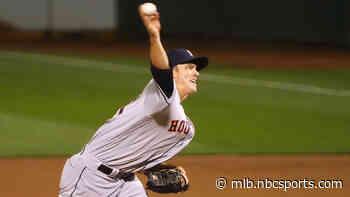 Greinke, Astros shut down rival A's to win opener 8-1