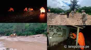Amazonas: restablecen tránsito vehicular en la vía Pedro Ruiz Chachapoyas - LaRepública.pe