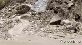 Amazonas: intensas lluvias generaron bloqueo de carretera entre Chachapoyas y Pedro Ruíz Gallo   ElPopular.pe - El Popular