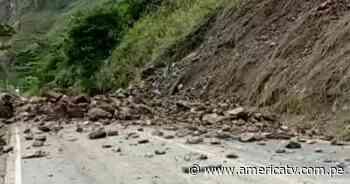 Amazonas: Caída de huaico bloquea tránsito en carretera que une Chachapoyas con Pedro Ruiz - América Televisión