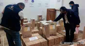 Amazonas: ODPE Chachapoyas recibe material electoral - LaRepública.pe