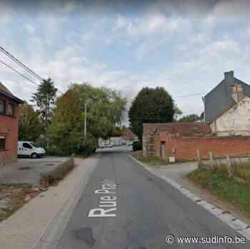 Une voiture fonce dans le muret d'une habitation à Ham-sur-Heure/Nalinnes - Sudinfo.be