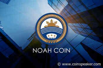 Noah Coin (NOAH) Climbs 1,400% to Become 43rd Largest Digital Asset - Coinspeaker