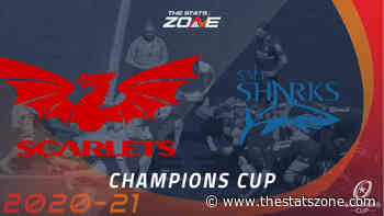 2020-21 European Rugby Champions Cup – Scarlets vs Sale Preview & Prediction - The Stats Zone