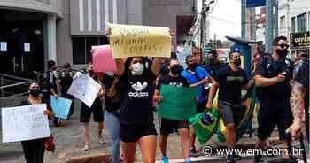 COVID: Frutal libera academias; em Uberaba, educadores físicos protestam - Estado de Minas