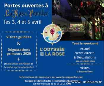 Portes ouvertes Cave La Rose Pauillac samedi 3 avril 2021 - Unidivers