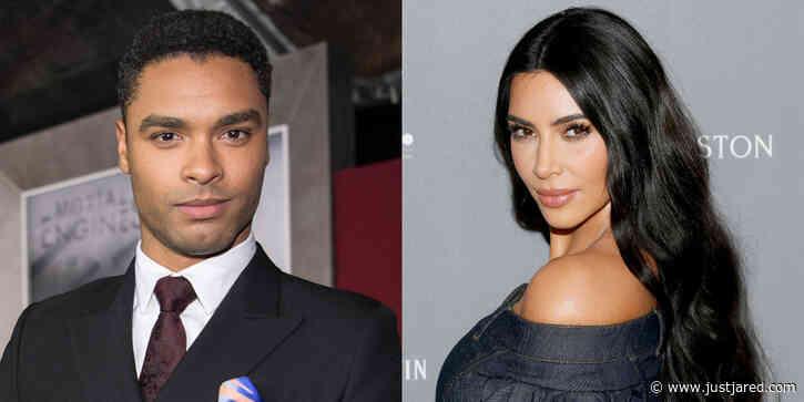Kim Kardashian Reacts To The News That Rege-Jean Page Is Leaving 'Bridgerton'