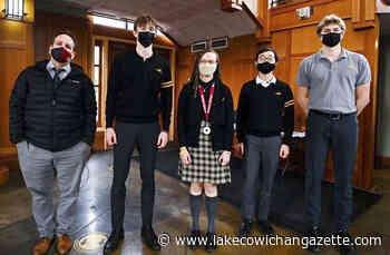 A mouthful of Pi: Shawnigan teacher recites 1,510 digits - Lake Cowichan Gazette