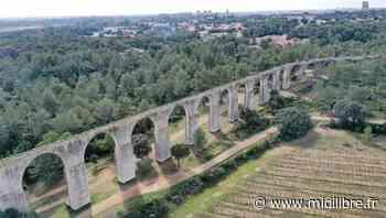 Hérault : découvrez le magnifique aqueduc de Castries par les airs - Midi Libre
