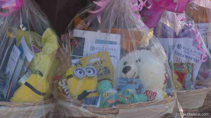 Easter Drive-Thru Brings Cheer To Kids, Families In West Dallas