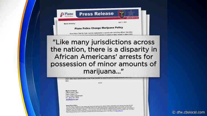 Plano Police Department Changes Marijuana Arrest Policy; Will Other North Texas Cities Follow?