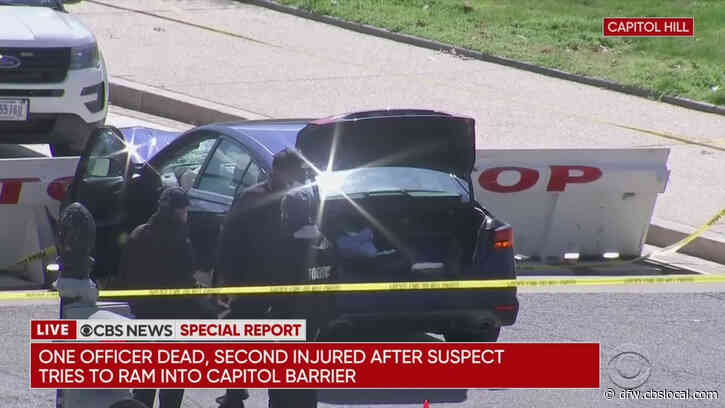 Car Rams Barricade At US Capitol: 1 Officer Killed, Other Seriously Injured