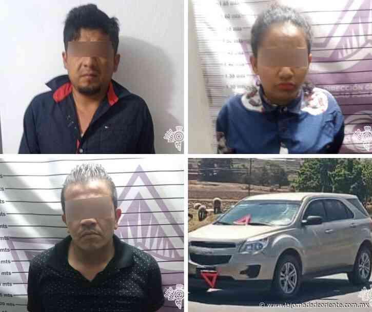 """""""Los Yimis"""" venían del Estado de México para delinquir en Chignahuapan, ya fueron detenidos - Puebla - - La Jornada de Oriente"""
