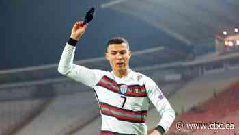 Cristiano Ronaldo's discarded armband raises $75K US to help Serbian baby