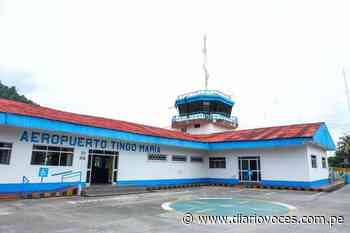 Licitarán estudio para determinar nueva ubicación del Aeropuerto de Tingo María - Diario Voces