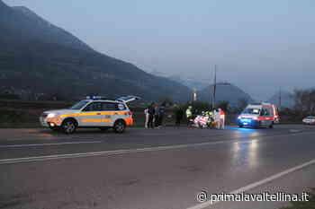 Grave incidente per un motociclista a Cosio Valtellino - Prima la Valtellina