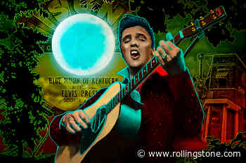 Elvis Presley's Rock & Roll Ambitions Grow in New Graphic Novel Excerpt