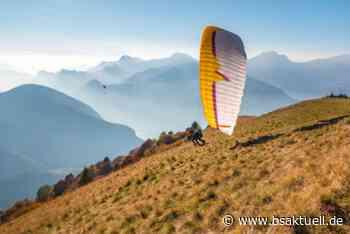 Bad Hindelang: Gleitschirmflieger übersteht Absturz unverletzt - BSAktuell