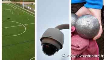 Isbergues : stade de foot, vidéoprotection… un budget « pour accompagner toutes les générations » - La Voix du Nord