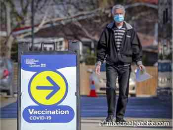 Pierrefonds-Roxboro mayor floats idea of drive-thru vaccination site - Montreal Gazette
