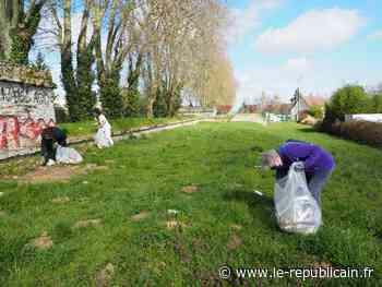 Opération Essonne verte, Essonne propre à Mennecy avec l'ASEC91 - Le Républicain de l'Essonne