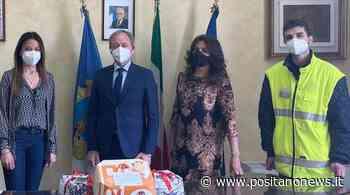 """A Santa Maria a Vico Pasqua Solidale con Pina Pascarella Presidente di """"Donare è....amore"""" - Positanonews - Positanonews"""