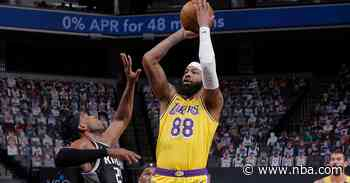 Postgame Notes: Lakers 115, Kings 94 (4/2/21)