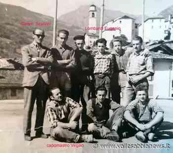 Bagolino - Scuola muratori anno 1956 - Valle Sabbia News