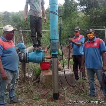 ¡Buenas noticias! Optimizan suministro de agua en Carúpano - Diario Vea
