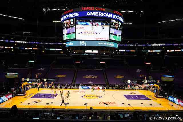 Staples Center To Allow Fans To Return Beginning With Lakers Vs. Celtics On April 15