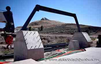 Avanza construcción de puente peatonal y ciclista parque Encino y Reliz - El Diario de Chihuahua