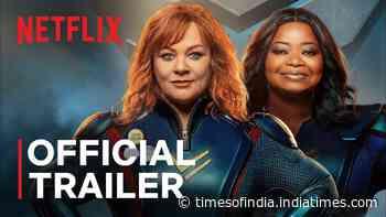 'Thunder Force' Trailer: Melissa McCarthy, Octavia Spencer And Jason Bateman starrer 'Thunder Force' Official Trailer - Times of India