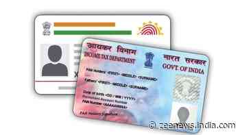 PAN-Aadhaar linking deadline extended: See the SMS format, numbers to link THESE documents