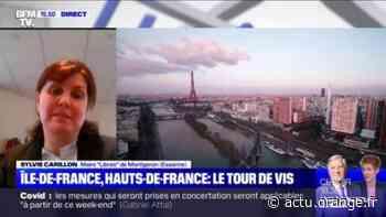 """Pour Sylvie Carillon, maire de Montgeron (Essonne), seul un confinement strict """"peut réellement encadrer les choses"""" en Île-de-France - Actu Orange"""