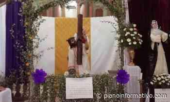 Realizan visita de los Siete Altares en Charcas - Plano informativo