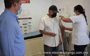 Inicia jornada de vacunación para adultos mayores de Peñón Blanco - El Sol de Durango