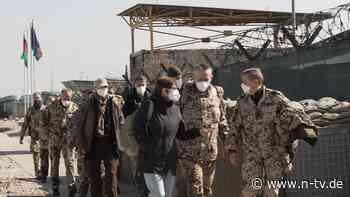 Neues Afghanistan-Mandat: AKK fürchtet mehr Gefahr für Bundeswehr