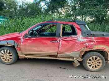 Acidente envolve quatro veículos na SC 163 em Itapiranga - Chapeco.Org