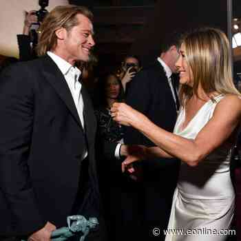 Jennifer Aniston and Brad Pitt's SAG Awards Reunion Photos Are Worth a Second Look - E! NEWS