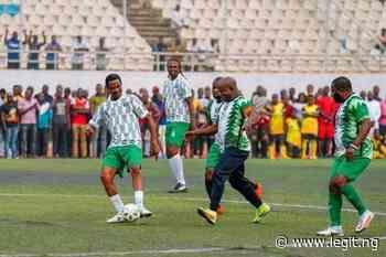 Governor Bello Mesmerizes Okocha, Kanu, Rufai as Super Eagles Legends Storm Lokoja for Football Match - Legit.ng